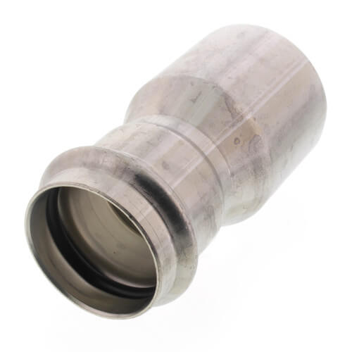 """2"""" x 1-1/2"""" ProPress 304 Stainless Reducer w/ FKM Seal (FTG x P) Product Image"""