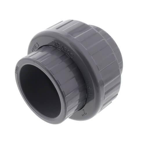 "1/2"" CPVC Schedule 80 FKM Union (Socket x Socket) Product Image"