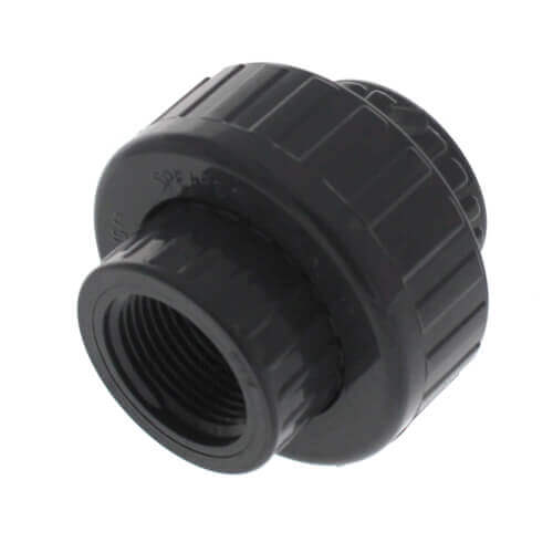 """1/2"""" PVC Sch. 80 Union With Viton O-Ring Seal (S x FPT) Product Image"""
