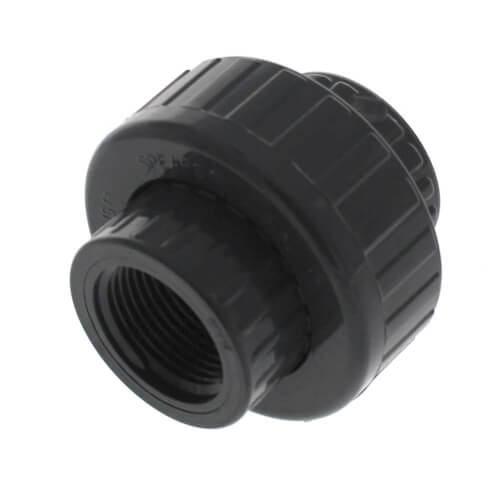 """1"""" PVC Sch. 80 Union With Viton O-Ring Seal (S x FPT) Product Image"""