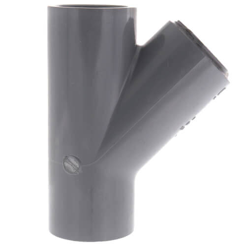 """3/4"""" x 3/4"""" x 1/2"""" CPVC Schedule 80 Reducing WYE Socket (235 PSI) Product Image"""