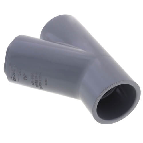 "1-1/4"" x 1-1/4"" x 3/4"" CPVC Schedule 80 Reducing WYE Socket Connection (235 PSI) Product Image"