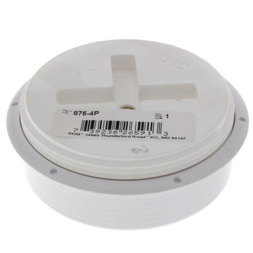 """4"""" Cleanout Bushing w/ Plug Product Image"""