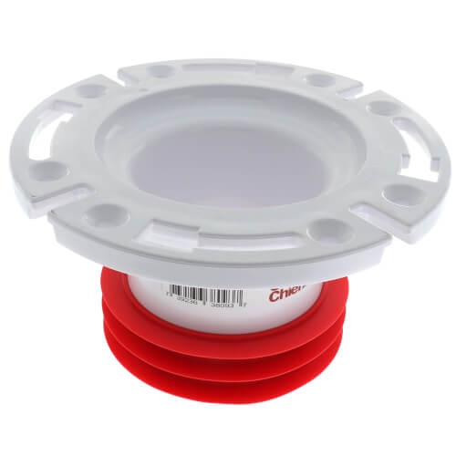 """4"""" Inside Push-In Flange w/ Extended Outlet  Product Image"""