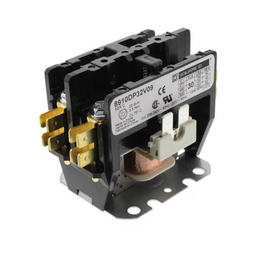 2 Pole, 30 Amp, Contactor (208/240V) Product Image