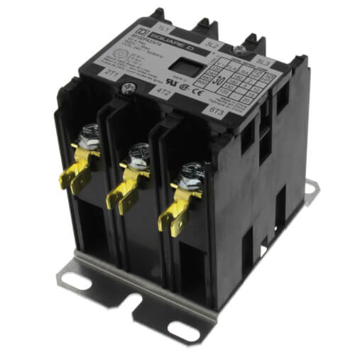 Definite Purpose Contactor (30A, 3 Phase, 3 Pole) Product Image