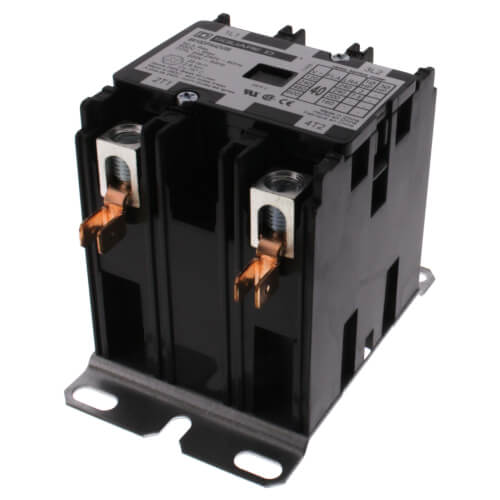2 Pole, 40 Amp, 208-240V Contactor Product Image