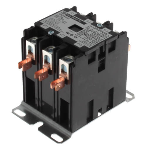 3 Pole, 40 Amp, 120V Contactor Product Image