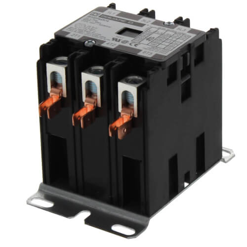 3 Pole, 40 Amp, 24V Contactor Product Image