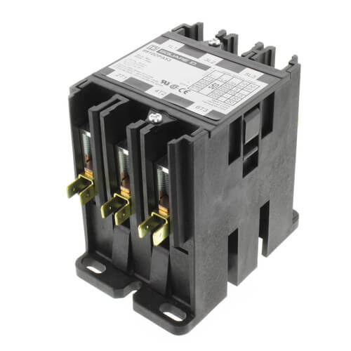 3 Pole, 50 Amp, 120V Contactor Product Image