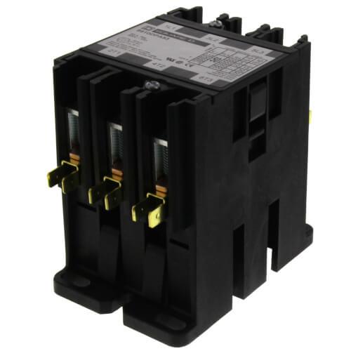 Definite Purpose Contactor, 3P, 50A (24V) Product Image