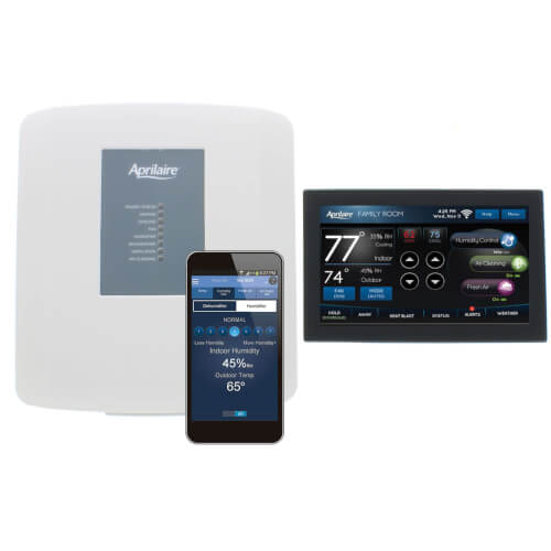 Programmable 3H/3C or 4H/2C Heat Pump Tstat (Full Color Touchscreen, Wi-Fi) Product Image