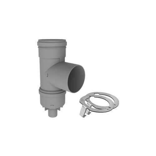 """8"""" PolyPro Tee with Drain Cap w/ LB2 Product Image"""