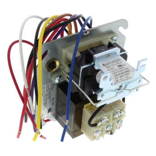 Fan Center, 120/208/240 Primary, 24 VAC Secondary, DPDT Relay on