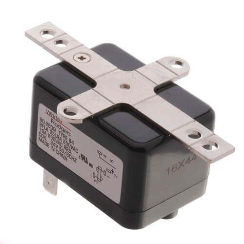 Fan Relay, Type 84, 24 VAC Coil, SPNO. Coil Data: 90 Ohms DC Resistance, on