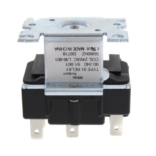 90 340 white rodgers 90 340 2 pole type 91 24 vac coil dpdt rh supplyhouse com Starter Relay Wiring Diagram 5 Pin Relay Wiring Diagram