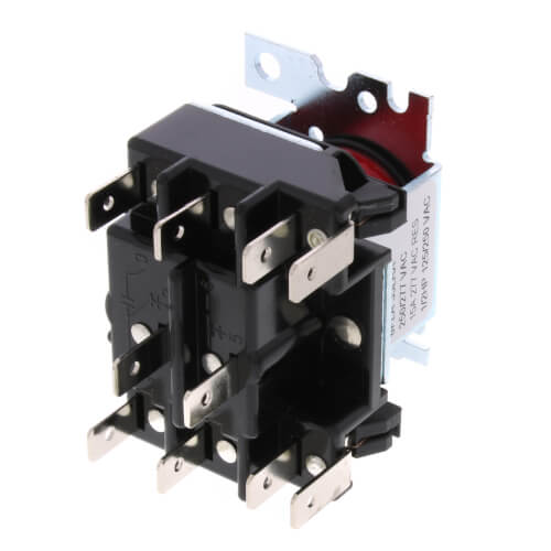 2 Pole, Type 91, 208/240 VAC Coil, DPDT, 2 Sets Of Power Rated Contacts. 1,600 Ohms DC Resistance, 38 mA Product Image