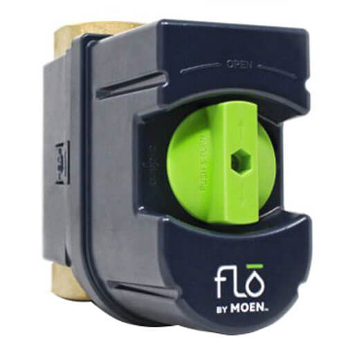 """Flo by Moen 1-1/4"""" Smart Home Water Monitoring and Leak Detection System Product Image"""