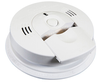 AA Battery Operated Ionization Smoke and Carbon Monoxide Alarm Product Image