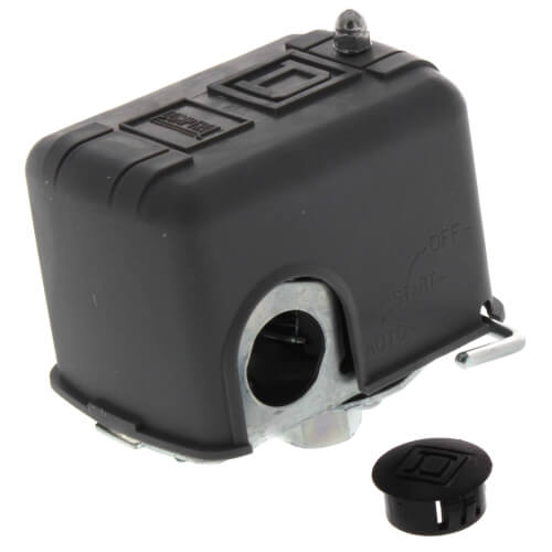 Water Pump Pressure Switch, 30/50 PSI, DPST w/ Manual Switch & Low Pressure Cut-Off Product Image