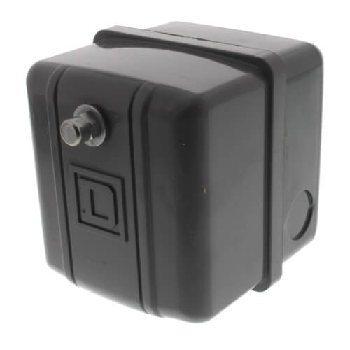 Air Compressor and Water Pump Pressure Switch, 60/80 PSI, DPST Product Image