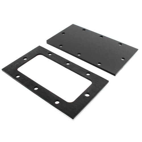 PP1013 Tankless Cover Plate w/ Gasket & Hardware for WBV Boilers Product Image
