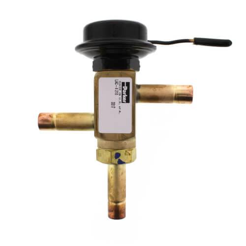 "LAC-4-210 3/8"" x 3/8"" x 3/8"" ODF Head Pressure Control Valve (210 psi) Product Image"