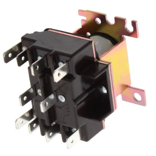 24 V General Purpose Relay w/ DPDT Switch Product Image