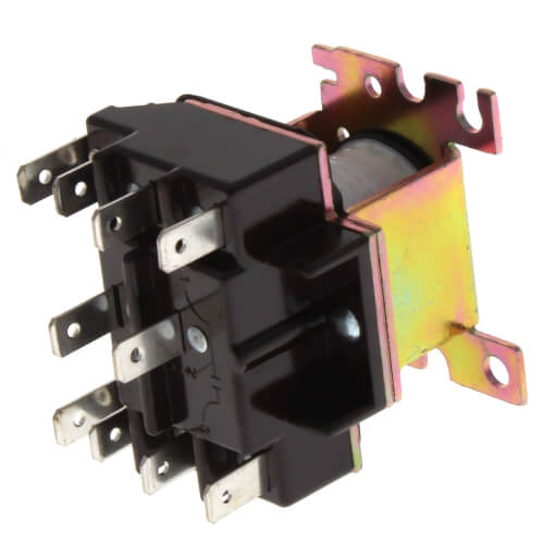 240V General Purpose Relay w/ DPDT Switch Product Image