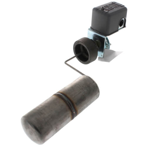 Liquid Level Switch w/ Bushing, Reverse Lever, Open On Rise, NEMA 1, Left Float Position (600V) Product Image
