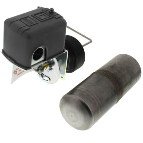 Liquid Level Switch w/ Rod & Float, Close On Rise, NEMA 1, Left Float Position (600V) Product Image