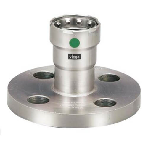 "1/2"" MegaPress 316 Stainless Steel Flange, 4 x 2-3/8"" Bolt Pattern Product Image"