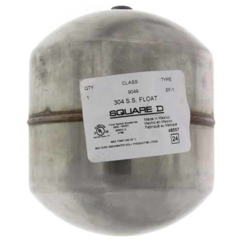"""3-5/8"""" Stainless Steel Float for 9037E, 9038D Product Image"""
