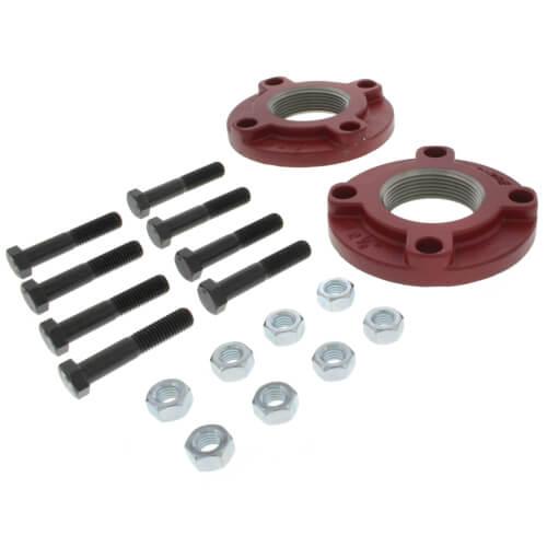 """Grundfos 91584911 Gf 53 2-1/2"""" Npt Pump Flange Set - Cast Iron"""