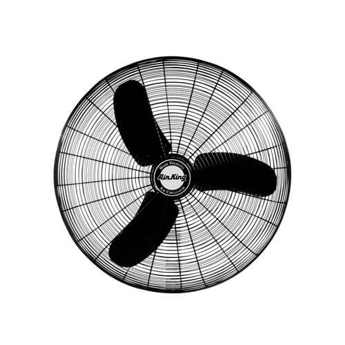 """9074 24"""" 3 Speed Oscillating Grade Wall Mount Fan (5770 CFM) Product Image"""
