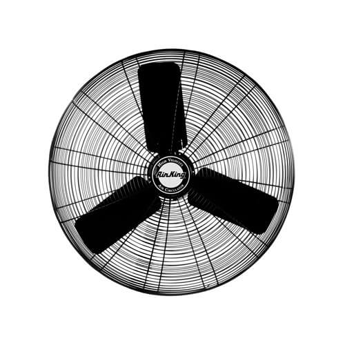 "9174H 24"" 3 Speed Industrial Grade Assembled Oscillating Fan Head (5770 CFM) Product Image"