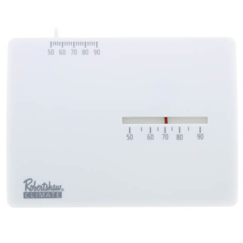 24V Horizontal Mount Thermostat (1Heat) Product Image