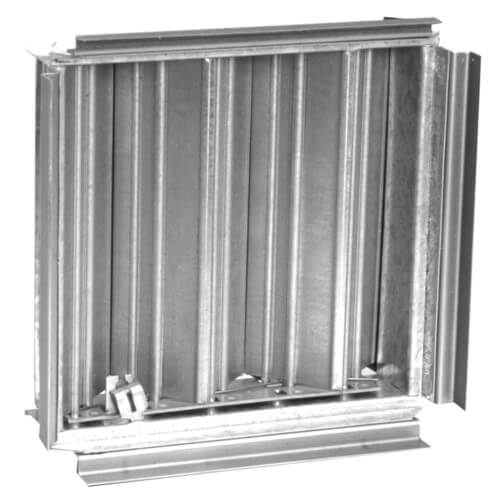 "9"" x 9"" Steel OBD Damper for SRE/SRS Ceiling Diffusers (SR7 Series) Product Image"