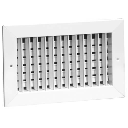 "30"" x 10"" 92VHO Steel Double Deflection Register, No Damper Product Image"