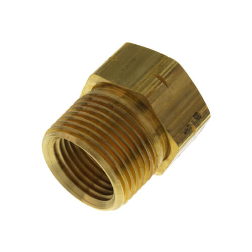 """PBGH6, 3/4"""" x 3/4"""" Garden Hose Adapter (Female Hose Thread to MIP) Product Image"""