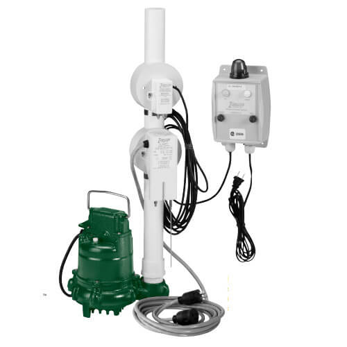 N152 Pump w/ Oil Guard Pump Switch & Panel (115V, 4/10 HP, 8.5 Amps) Product Image