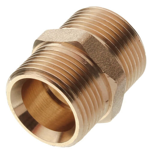 "3/4"" Double Nipple for Coupling PEX Fittings Product Image"