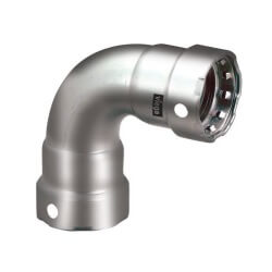 """1/2"""" MegaPress 304 Stainless Steel 90° Elbow Product Image"""