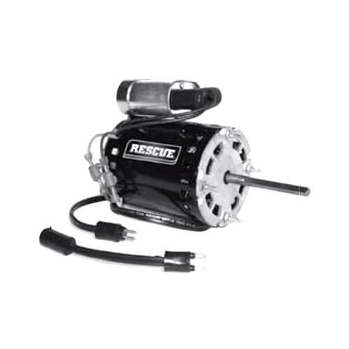 "3.3"" TEAO Krack Fractional Horsepower Direct Drive Fan Motor (115/230V, 1/20 HP, 1550 RPM) Product Image"