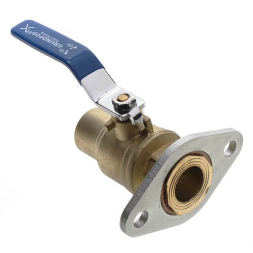 """1/2"""" GF 15/26 Bronze Dielectric Isolation Valve Pair, No Lead (Sweat) Product Image"""