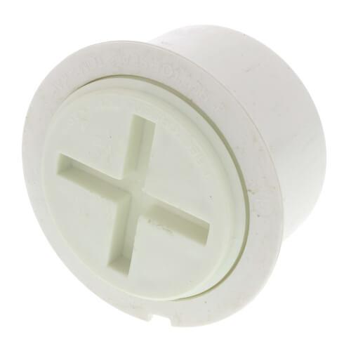 "3"" PVC Tom-Kap Adapter & Plug Product Image"