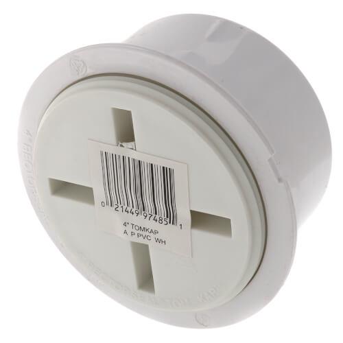 "4"" PVC Tom-Kap Adapter & Plug Product Image"