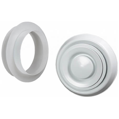 """6"""" EasyAir Suspended Ceiling/Wall Fitting Product Image"""