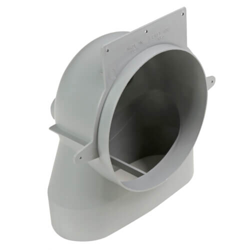 """4"""" EasyAir Stack Head Elbow Product Image"""