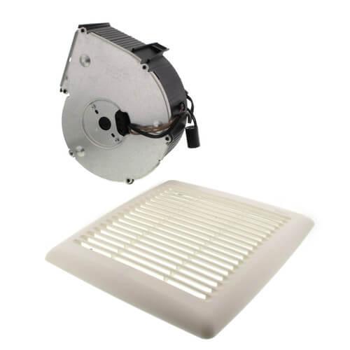 Flex Series Fan Finish Pack w/ White Grille, No Light (110 CFM, 3.0 Sones) Product Image